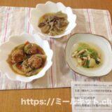 3種きのこ入り肉団子の甘酢あんかけセットを食べてみた【わんまいるの口コミ・実食レポ!】