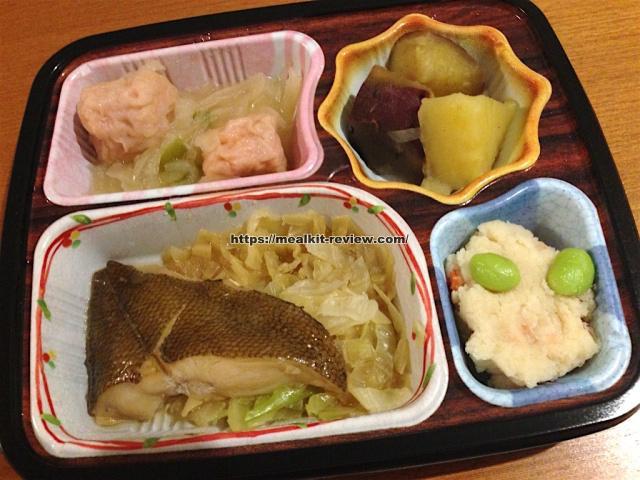 かれいの煮つけセットを食べてみた【ベルーナグルメの口コミ・実食レポ!】