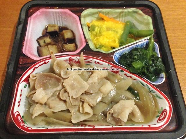 豚肉とごぼうの甘辛煮セットを食べてみた【ベルーナグルメの口コミ・実食レポ!】