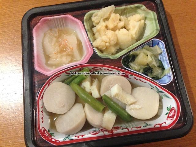 イカと里芋の煮物セットを食べてみた【ベルーナグルメの口コミ・実食レポ!】