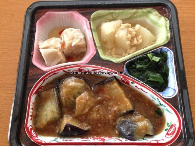 麻婆なすセットを食べてみた【ベルーナグルメの口コミ・実食レポ!】