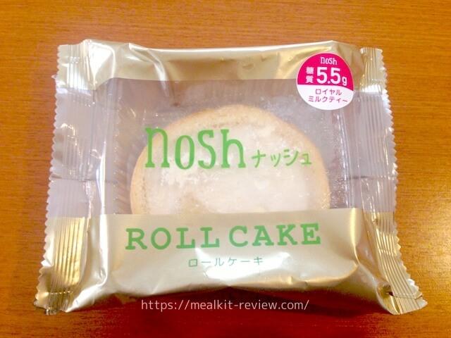 ロイヤルミルクティーロールケーキを実食!【noshの低糖質デザートの口コミ】