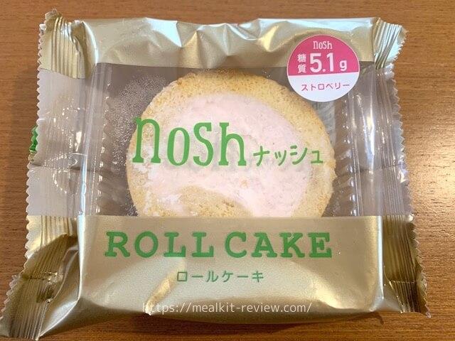 ロールケーキストロベリーは美味しい?【noshの低糖質デザートの実食レビュー】