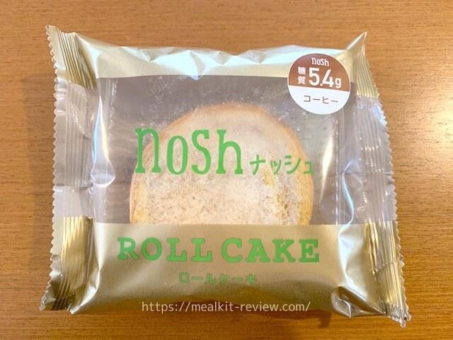 ロールケーキコーヒーを食べた口コミ【noshの低糖質デザートの実食レポ】