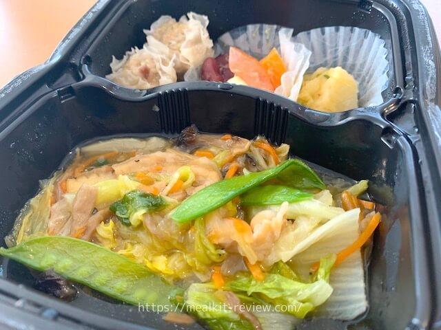 八宝菜弁当は美味しい?【noshのメニュー実食レポート&口コミ】