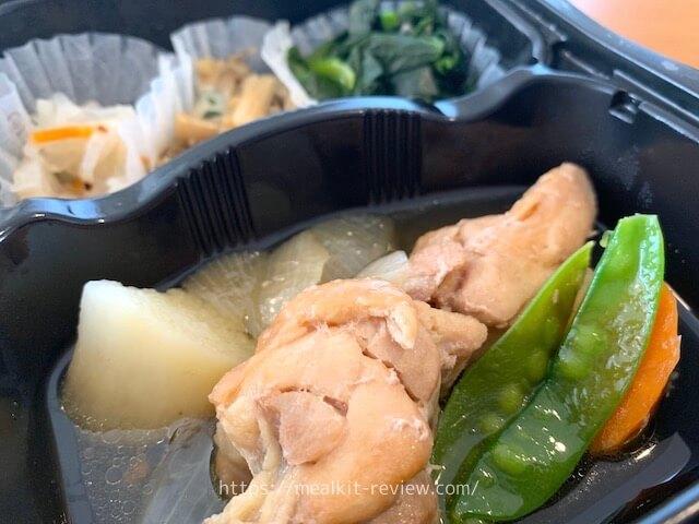 大山どりのごろごろ野菜の旨煮を実食!【noshの鶏肉料理の口コミ】