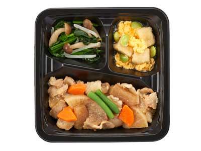 食のそよ風 豚肉と根菜のやわらか旨煮